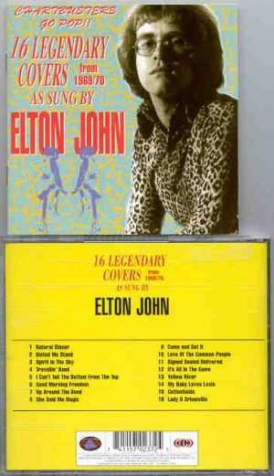 Elton John - 16 Legendary Covers Sung By Elton John ( Rare Cover Versions )