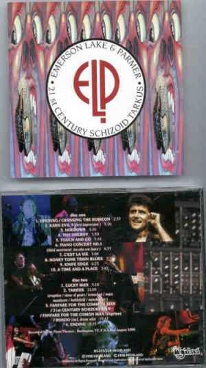 Emerson , Lake & Palmer - 21st Century Schizoid Tarkus ( Highland ) ( 2 CD set )( Burlington , VT , USA , August 2nd , 1998 )