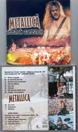 Metallica - Aardshok ( Live in Zwolle Ijsellhall , Holland , February 8th , 1987 )