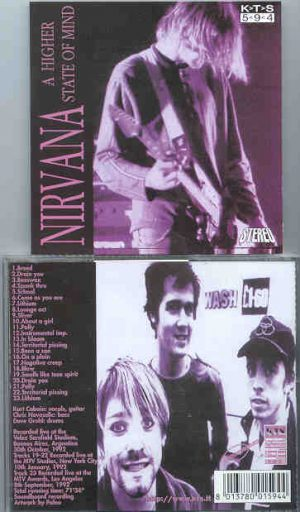 Nirvana - A Higher State Of Mind ( KTS ) ( Live in Argentina )