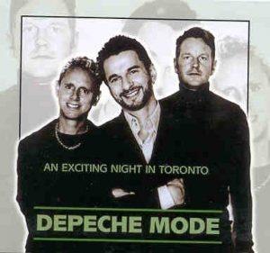Depeche Mode - An Exciting Night In Toronto ( 2 CD set )( Molson Amphitheatre , Toronto , Ontario , Canada , June 16th , 2001 )