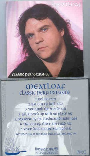 Meat Loaf - Classic Performance ( Music Hall , Cleveland , USA , 1987 ) ( Swingin Pig )( Elephant in the Pan )
