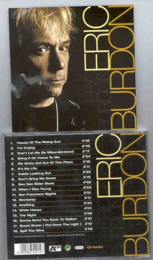 Eric Burdon and The Animals - Eric Burdon ( 18 Rare Tracks )