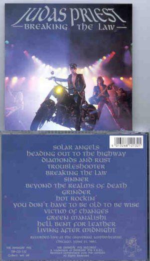 Judas Priest - Breaking The Law ( Swingin Pig ) ( Chicago , June 21st , 1981 )