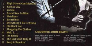 Robin Trower - Ain't Nothing To Get Excited About ( Liquorice John Death project )
