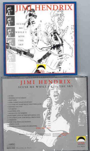 Jimi Hendrix - 'Scuse Me While I Kiss The Sky ( Luna Recs )