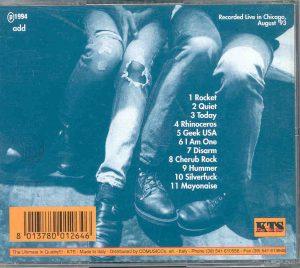 Smashing Pumpkins - 3 Feet High ( Live in Chicago , August 1993 ) ( KTS )