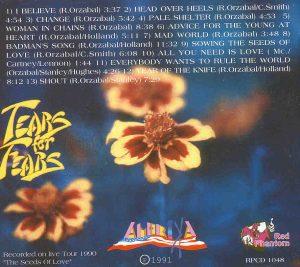 Tears For Fears - Amerika ( Great Dane - Red Phantom )