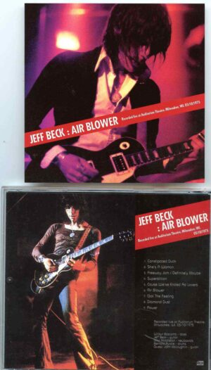 Jeff Beck - Air Blower ( Live at Auditorium Theatre , Milwaukee , WI , USA , May 10th , 1975 )