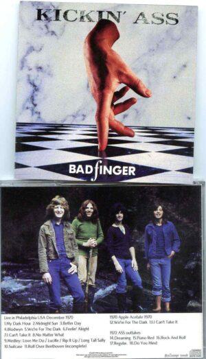 Bad Finger - Kicking Ass ( Live In Philadelphia USA , December 1970 , plus bonustracks Apple Acetate 1970 & Ass Outtakes )