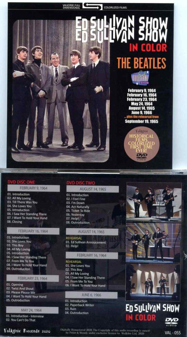 Ed Sullivan In Color ( 2 DVD SET ) ( Misterclaudel / Valkyrie )