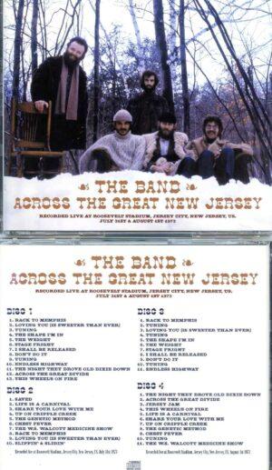 Across The Great New Jersey ( 4 CD SET ) ( Roosevelt Stadium, New Jersey, USA, July 31st & Aug 1st, 1973 )