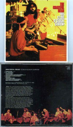 Grateful Dead - 12 O Clock Curfew ( 1 CD )( Broadcast KPFA Berkeley FM ) ( October 13th, 1968 )